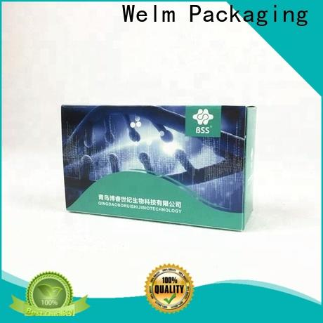 Welm blood medicine packaging material with reflective material for blood glucose test strips