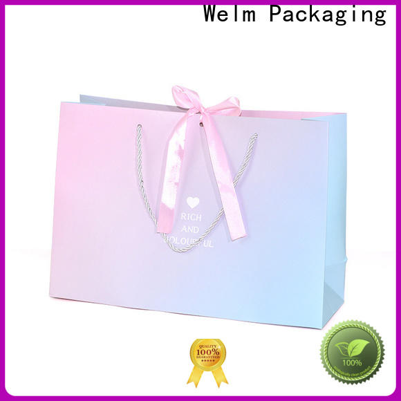 Welm food where to buy plain paper bags manufacturers for gift shopping