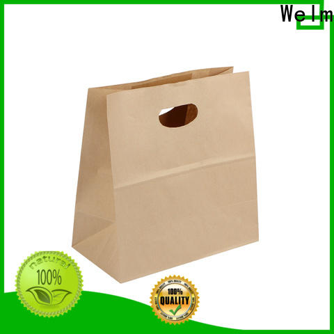 woven the paper bag store waterproof manufacturers for gift shopping