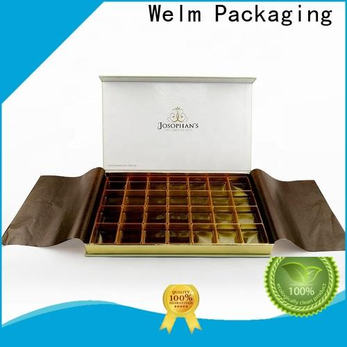 Welm high-quality custom boxes and packaging for storage