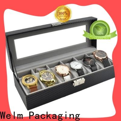 Welm jewellery necklace and bracelet gift box private label for food
