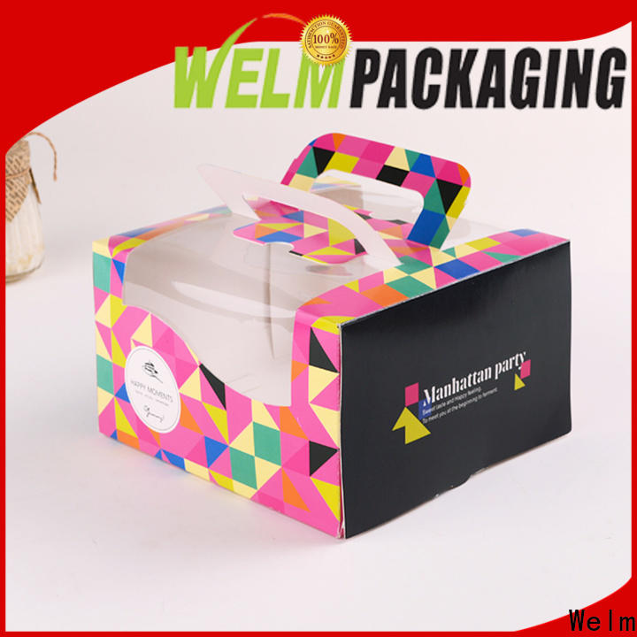 Welm latest catering boxes and packaging cartoon for sale