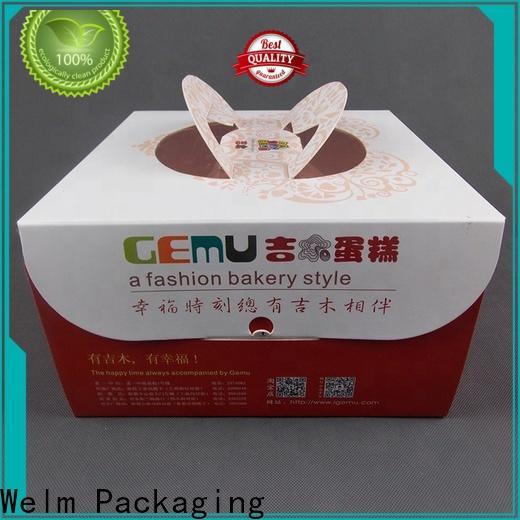 Welm best clear packaging cartoon for pet food