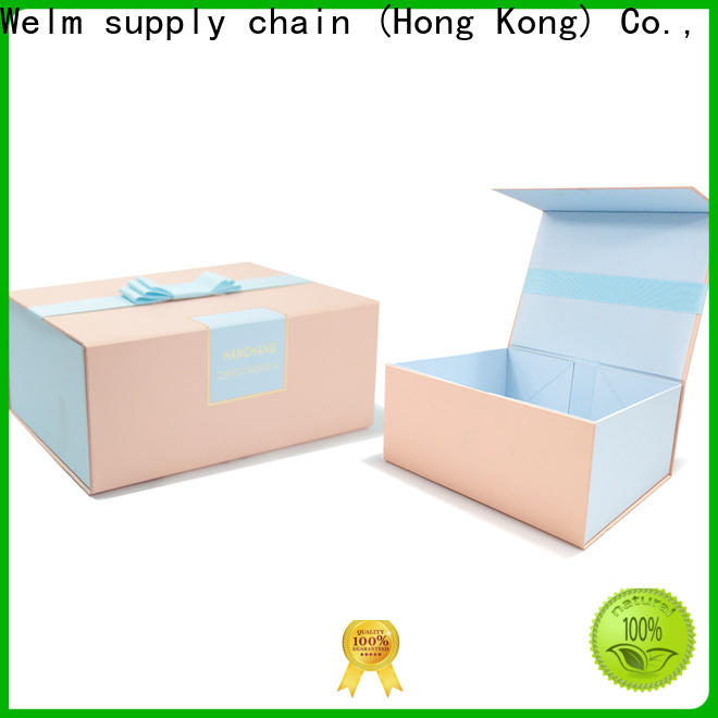 Welm luxury paper box studios manufacturers for sale