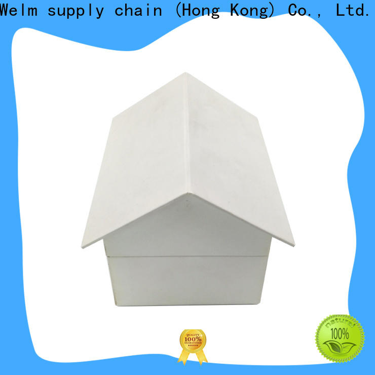 Welm cardboard personalised packaging boxes with windows for storage