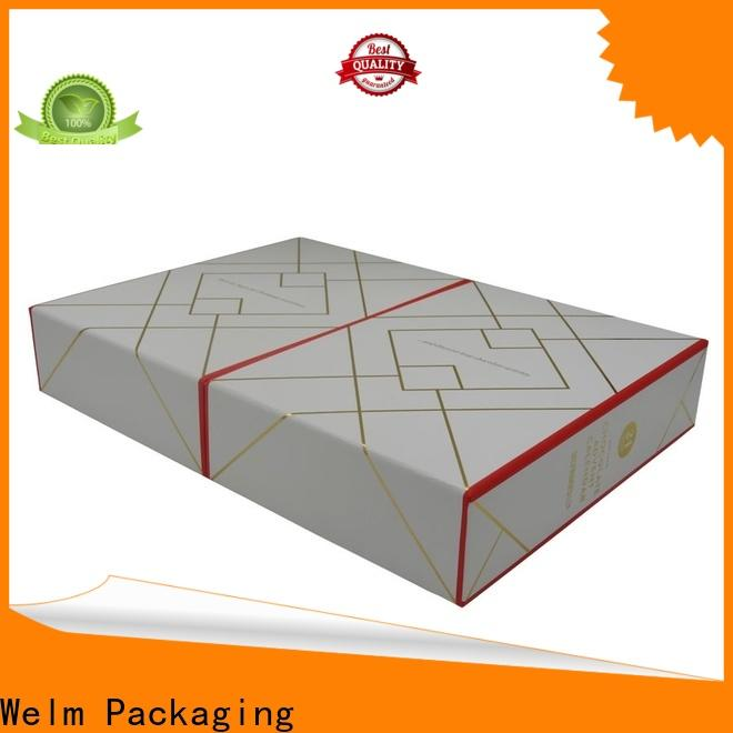 Welm new product packaging boxes with windows for sale