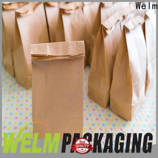 Welm kraft paper sacks in bulk food for gift shopping