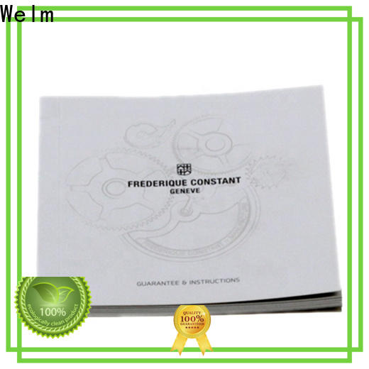Welm wholesale glossy flyer paper manufacturer for business