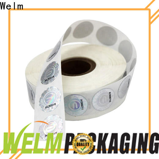 Welm customized buy personalised stickers private label for storage