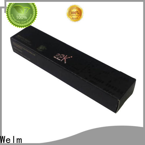 Welm box cosmetic packaging australia company for lip stick