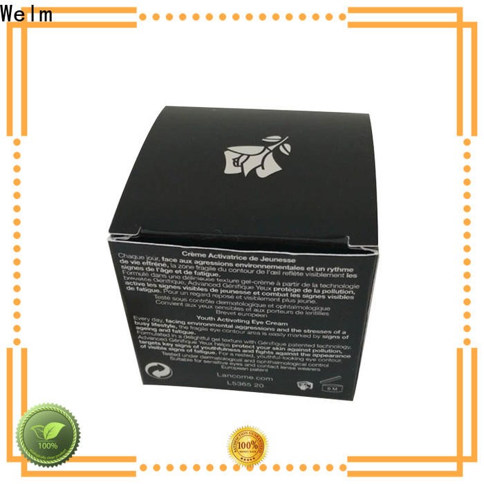 Welm customized cosmetic boxes wholesale company for lip stick