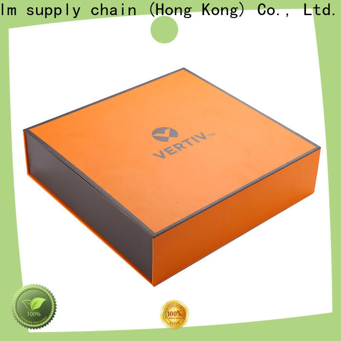 Welm recycle collapsible magnetic boxes with ribbon for sale