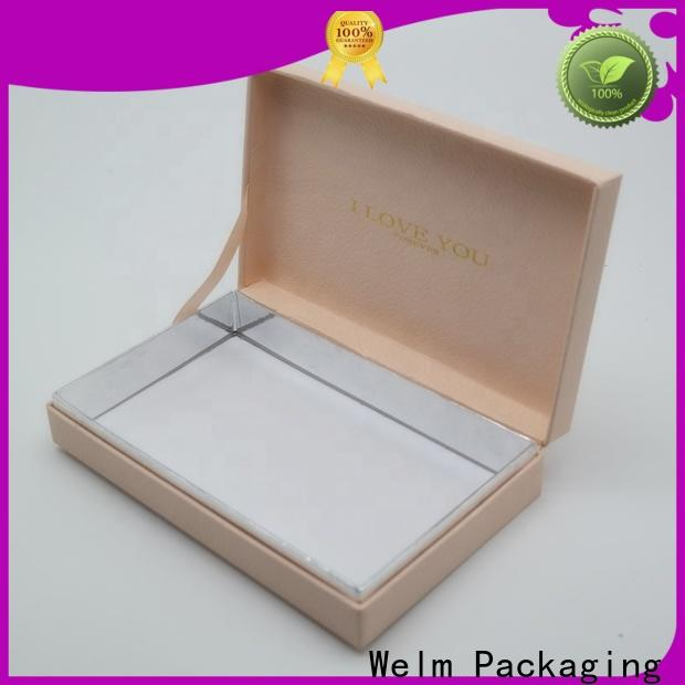 Welm luxury box packaging handmade for lip stick