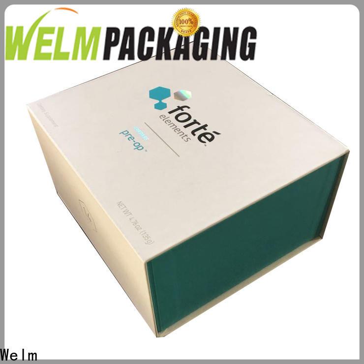 Welm vial custom packaging cardboard for dried fruit