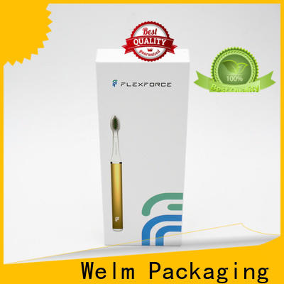 toothbrush electronics packaging companies boxes with pvc window for sale