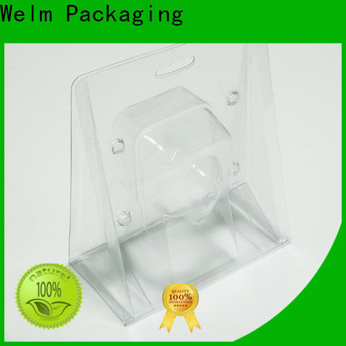 Welm polybag blister packaging industry tray liner for mouse packaging