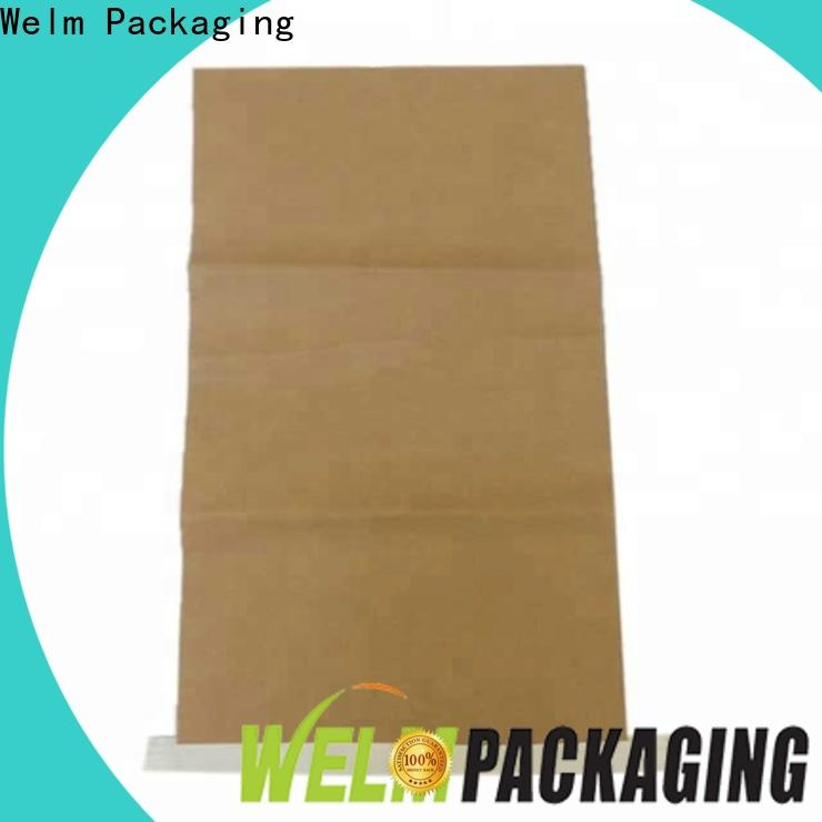 Welm fruit packing brown paper gift bags with handles food for gift shopping