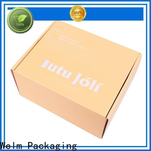 latest packaging boxes glossy factory for sale