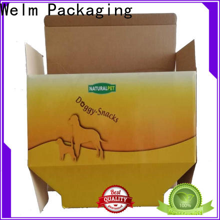 Welm board retail packaging boxes cartoon for gift