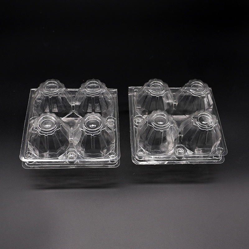 2/4/6/8/9/10/12/15/16/20  PET PVC Plastic Egg Packaging Tray And Box