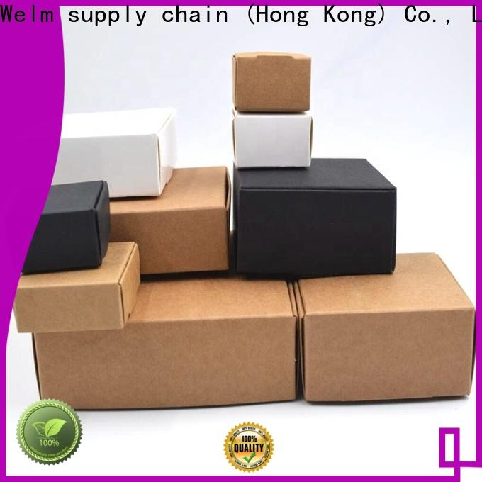 Welm drug custom printed cardboard boxes with pvc window for medicine