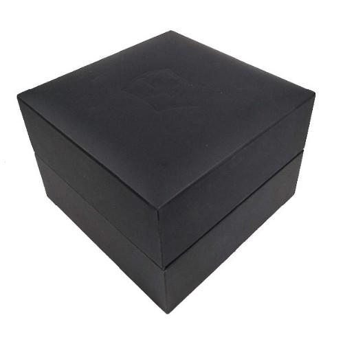 Customized Logo Cardboard Rigid Flip Top Paper Watch Box