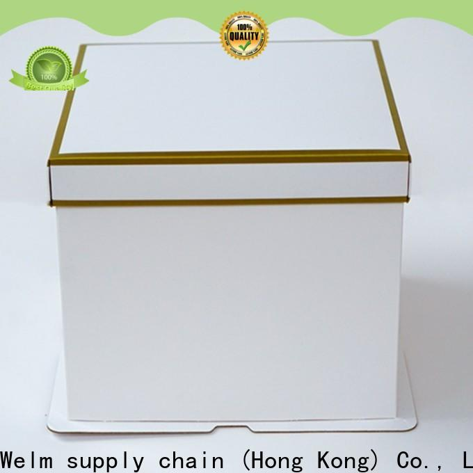 Welm new food packaging wholesale company for gift