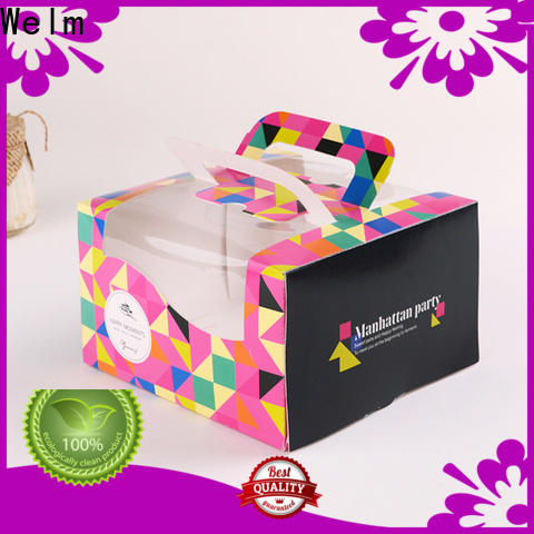 latest gift packing box frozen for gift