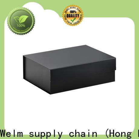 Welm cardboard black present box handmade online