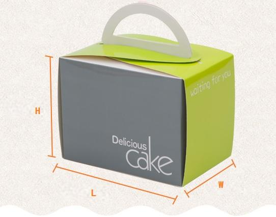 High Quality Eco Friendly Cardboard Birthday Gift Cake Box Packaging
