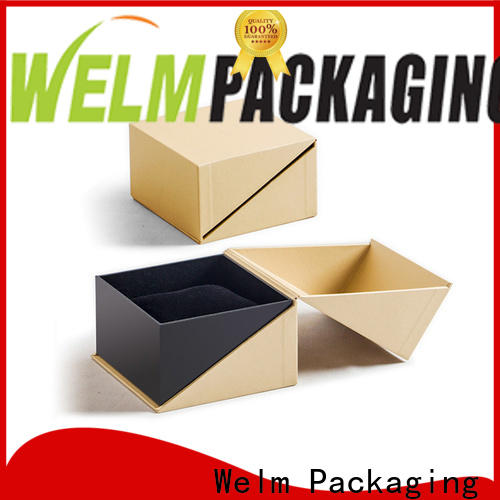 Welm full custom printed cosmetic boxes manufacturer for sale
