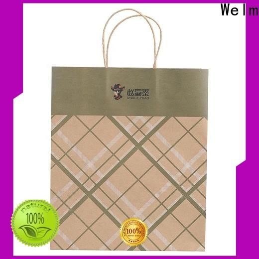 Welm top heavy duty brown paper bags for sale