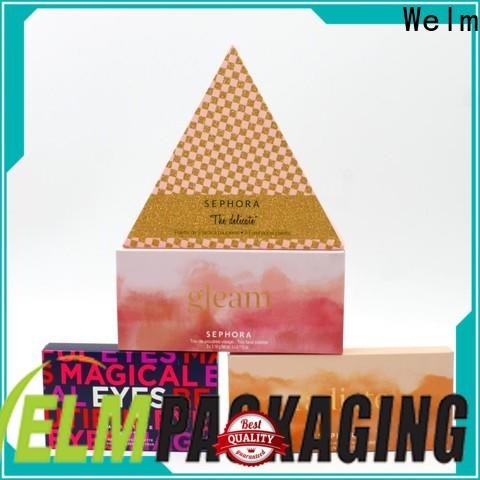Welm drug colored shipping boxes wholesale with color printed food grade material online