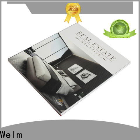 Welm new pamphlet style printing supplier online