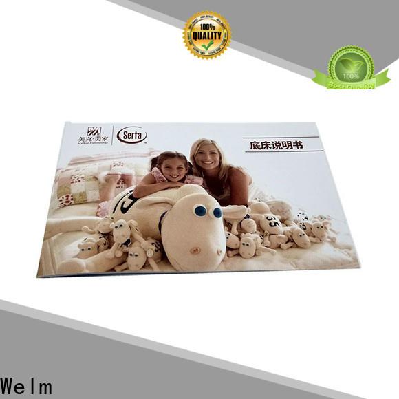 Welm profile one fold brochure supplier online
