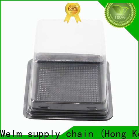 Welm disposable round clamshell packaging tray liner for mouse packaging