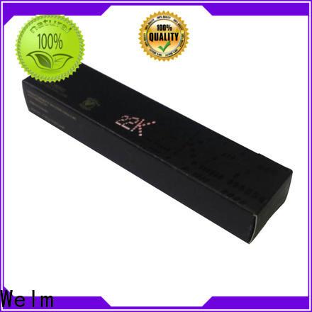 Welm carton cosmetic box design for lip stick