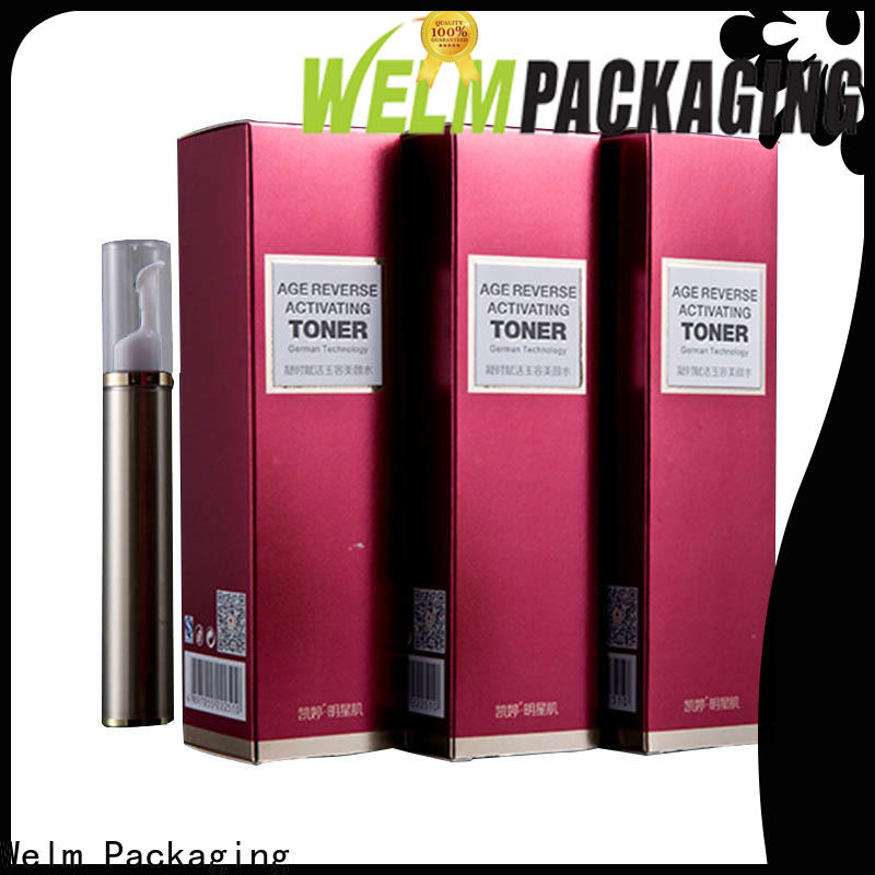 Welm gift small cosmetic pots supply for tempered glass packing