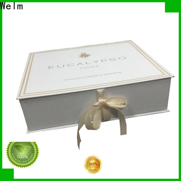 Welm latest buy black gift boxes factory for sale