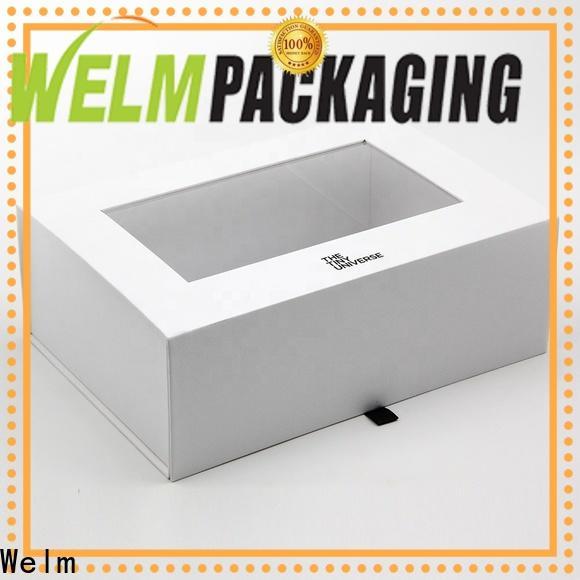 Welm sticker gift box ziplock for food