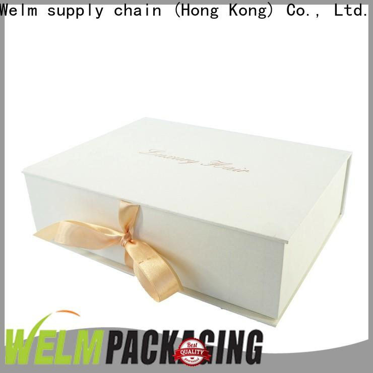 Welm paper gift box for electric toothbrush for toy