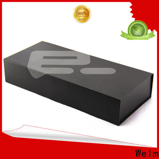 Welm foldable gift boxes wholesale with window for sale