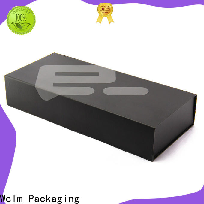 Welm luxury folding box factory for gift