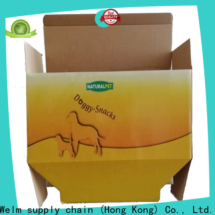 Welm food catering food boxes for pet food