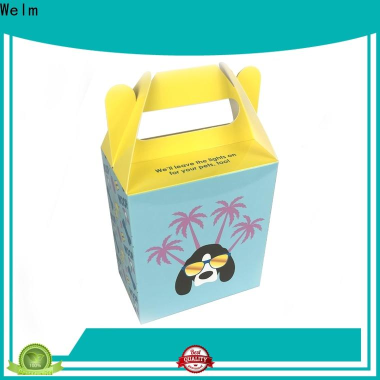 Welm recyclable cardboard lunch boxes for catering manufacturers for sale