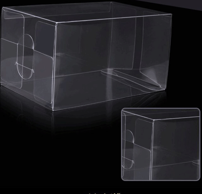 PVC box PP transparent plastic box multi-size small gifts holiday thickening hardening blister packaging box