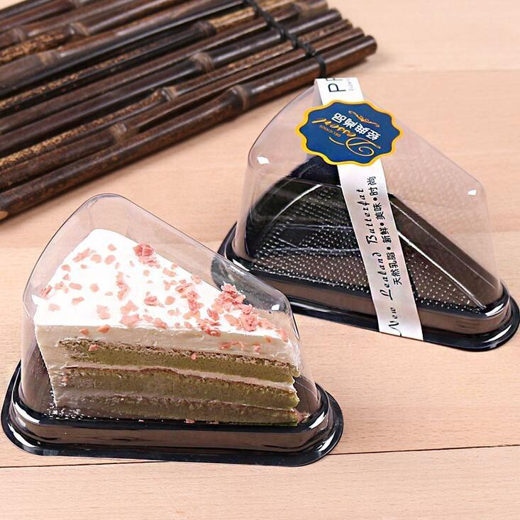 Customized Quality triangle cake box plastic blister Supplier