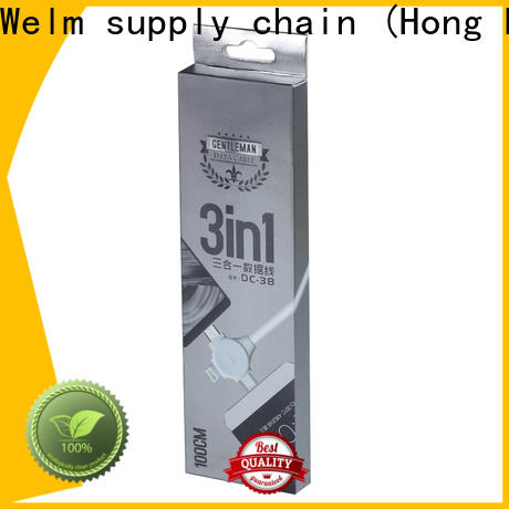 Welm types beautiful packaging boxes factory for men
