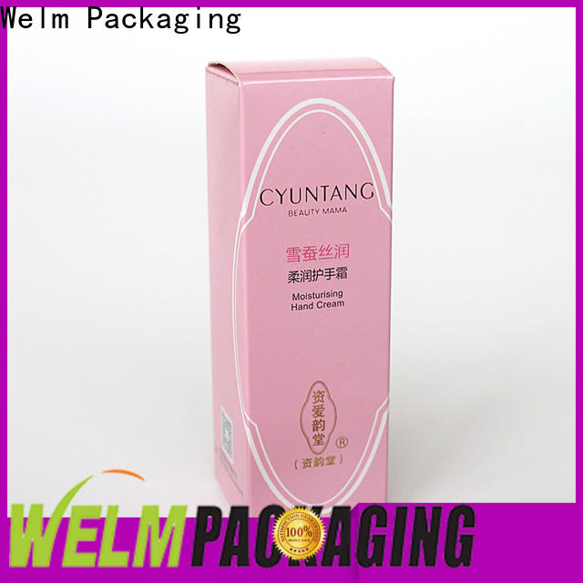 Welm high-quality pharma packaging manufacturers company for facial cosmetic