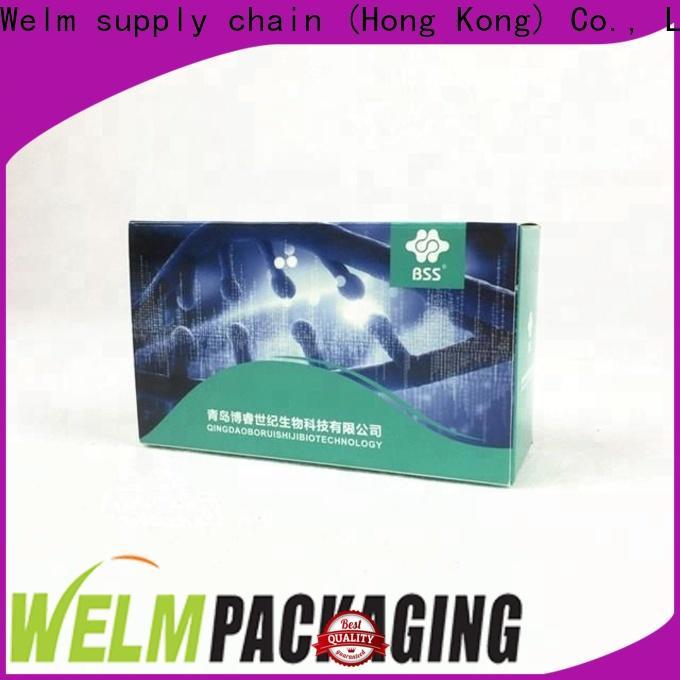 new pharma carton box design standard for business for facial cosmetic